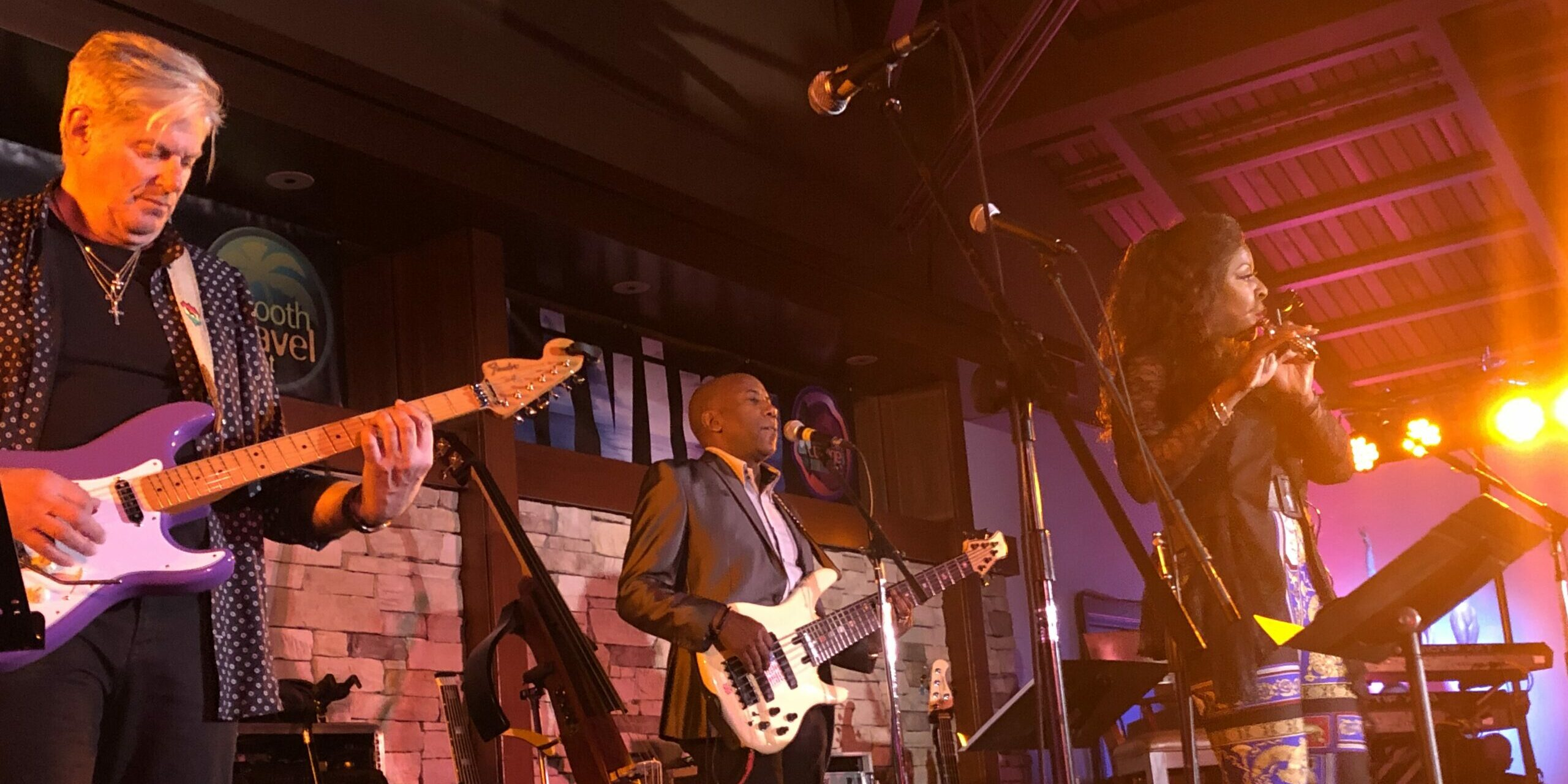 Althea Rene with Nathan East Band of Brothers